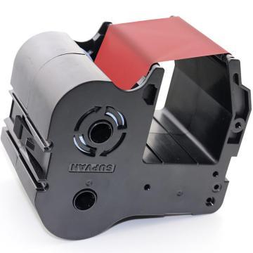硕方 标牌机,SP350/SP650专用色带,红色 单位:卷