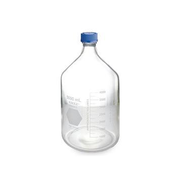 蓝盖试剂瓶,5L GL45 PP盖,玻璃