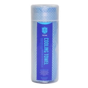 PREISING 降溫毛巾,80*34cm 藍