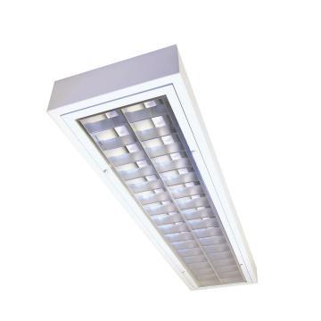 飞利浦 2*36W T8洁净室格栅灯,不含光源,TBH318 2xTL-D36W HFP M5 CR,单位:套