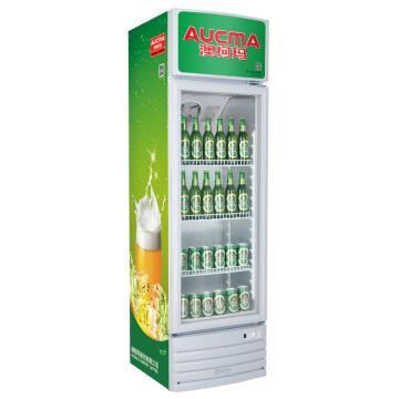 单门冷藏立式啤酒柜,澳柯玛,SC-229,0~10℃,525*555*1795,厂家直发上门(除新疆、西藏)