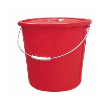西域推荐 塑料桶,19L,带盖