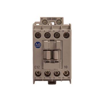 AB 交流线圈接触器,100-C12D10,110VAC