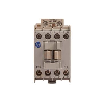 AB 交流线圈接触器,100-C09D10,110VAC