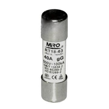 茗熔 熔断器,RO16 6A