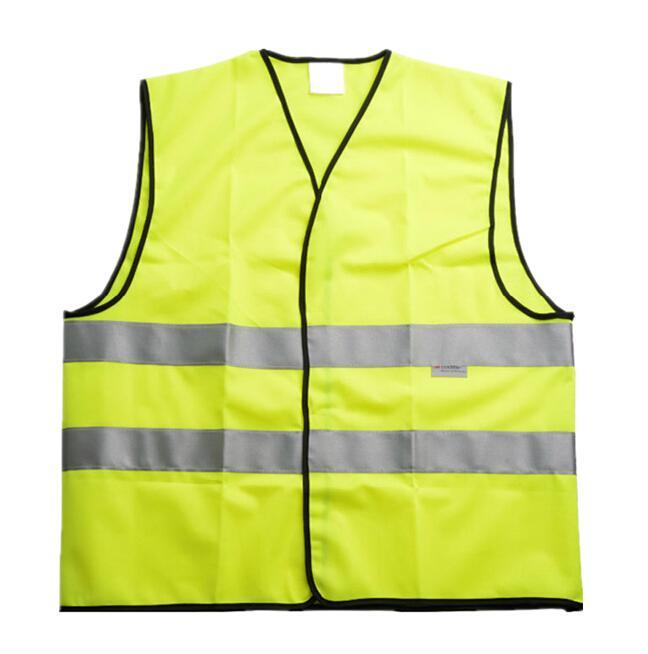 安全背心,明亮颜色面积90%以上,反光条 印嘉士伯LOGO(冬款),L(嘉士伯专供)