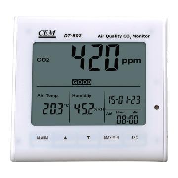 二氧化碳检测仪,华盛昌 台式二氧化碳监测仪,DT-802