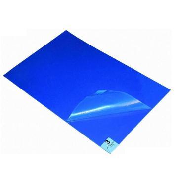 """粘尘垫,24""""*36"""" 蓝色 30层/本,10本/盒"""