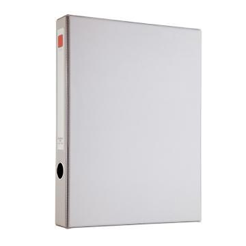 齊心 辦公必備磁扣式PVC檔案盒,A1296 A4 35MM 灰 單個