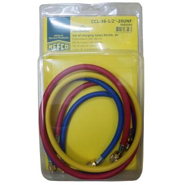 "REFCO 充气管(R410a三色) CCL-36-1/2""-20UNF 产品代码9884094"
