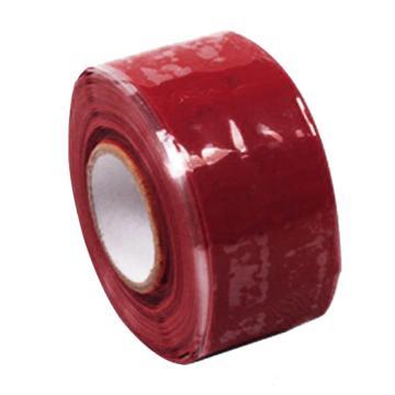 硅橡胶绝缘自粘胶带 100mm*5M*0.5mm  红色