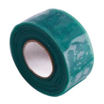 硅橡胶绝缘自粘胶带 100mm*5M*0.5mm  绿色