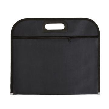 齊心 會議專用織布袋,A1670 B4雙袋 黑 單個