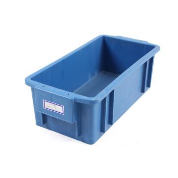 迅盛 韓系物流箱,藍色,內尺寸:320*160*110,外尺寸:370*185*120