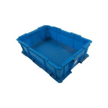 迅盛 韓系物流箱,藍色,內尺寸:400*277*105,外尺寸:429*306*125