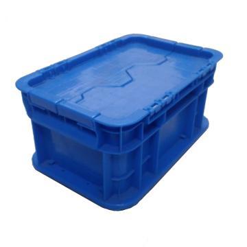 防尘物流箱,蓝色,内尺寸:250*150*125,外尺寸:300*200*148