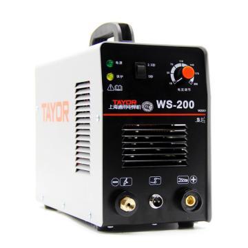 通用氩弧焊机,WS-200S,220V,可用手工焊