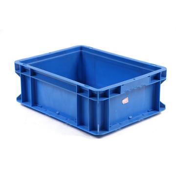 迅盛 通用物流箱,蓝色,内尺寸:255*155*125,外尺寸:300*200*148