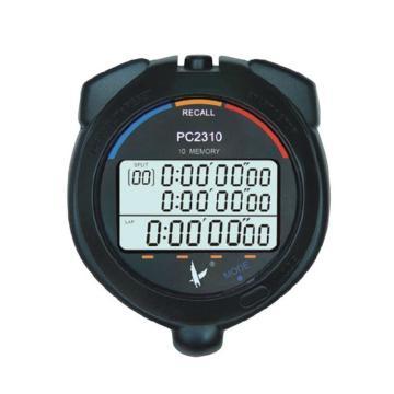 天福 秒表,PC2310 三排10道,运动计时器 多功能 专业防水秒表