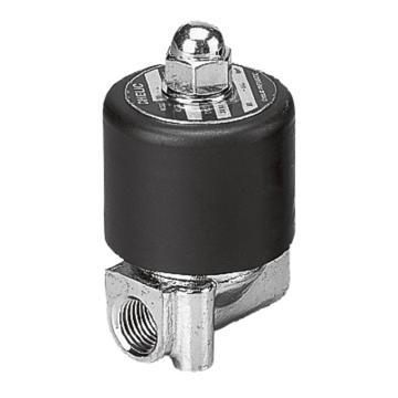 气立可CHELIC 电磁阀,2位2通直动常闭型,不锈钢,SAS-8A-DC24V