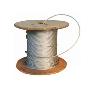 西域推荐 镀锌钢丝绳,规格:Φ21.5mm,6*37+FC