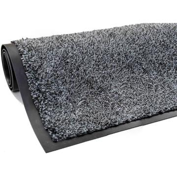 超强吸水吸油地垫, 灰色 100*200cm*1cm