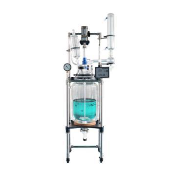 单层玻璃反应釜30L