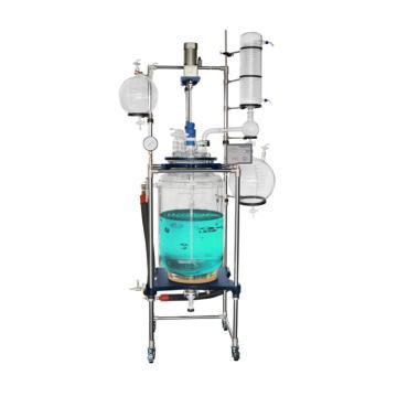 100L双层玻璃反应釜