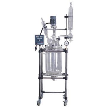 双层玻璃反应釜,YSF-10L,标准型,予华