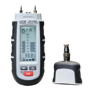 华盛昌/CEM 水份温湿度测试仪,DT-125G