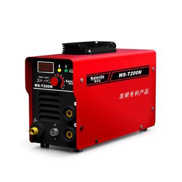 凯尔达 WS-T200N 逆变直流氩弧手工两用电焊机高负载率耐用 官方标配