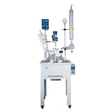 予华 单层玻璃反应釜,搅拌转速:0-450rpm,控温范围:室温~299,YDF-10L