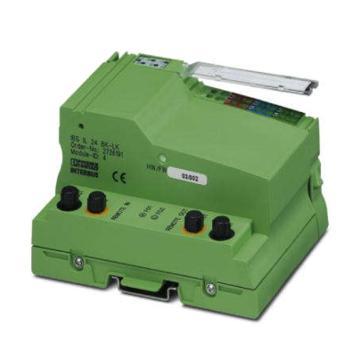 菲尼克斯PHOENIX 总线耦合器,IBS IL 24 BK-LK-PAC