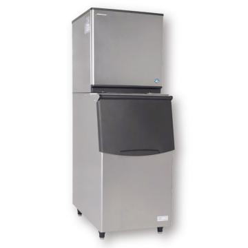 HOSHIZAKI 组合式新月形制冰机,KMD-270AA,220V,10300W,日制冰量265kg,选配不同容量竖型储冰箱