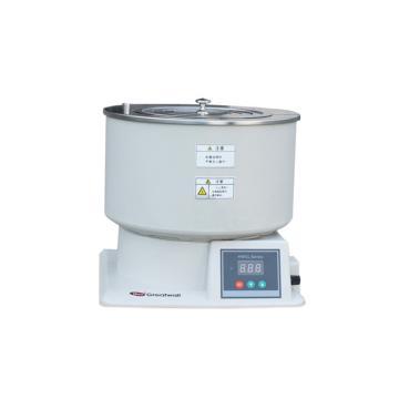 磁力攪拌浴,溫度范圍:RT+5~200℃,集熱式恒溫,轉速:0-2000rpm,容積:6.5L,HWCL-5