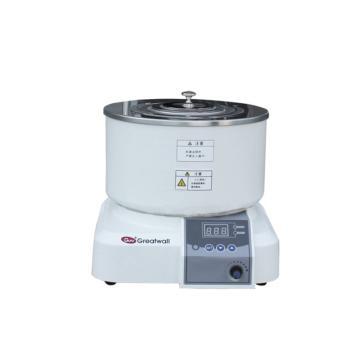磁力搅拌浴,HWCL-3,集热式恒温,温度范围:RT+5~200℃,转速:0-2000rpm,容积:4L
