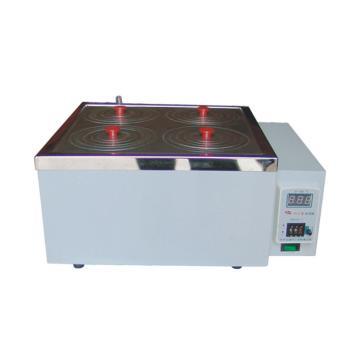 电子恒温水浴,HH-S,双列四孔,控温范围:RT-99℃