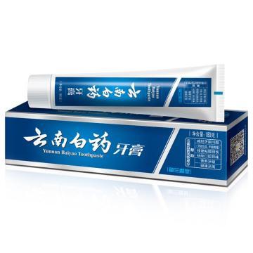 云南白藥牙膏,留蘭香型 180g 單位:個