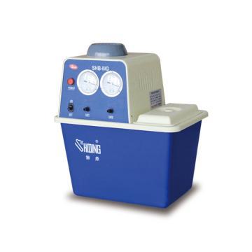 真空泵,SHB-IIIG,台式循环水式,流量:80L/min,最大真空度:0.098MPa,容积:15L