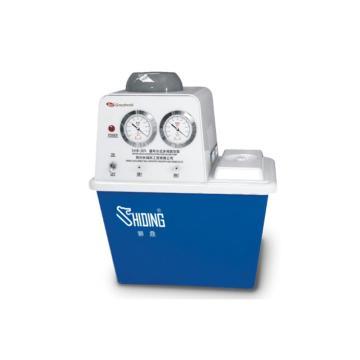 真空泵,SHB-IIIS,台式循环水式,流量:80L/min,最大真空度:0.098MPa,容积:15L