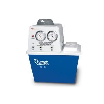 真空泵,SHB-IIIA,台式循环水式,流量:80L/min,最大真空度:0.098MPa,容积:15L