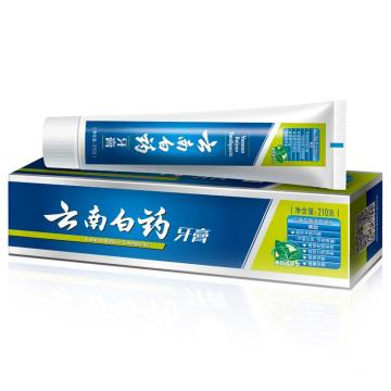 云南白藥牙膏,薄荷清爽型 210g 單位:個