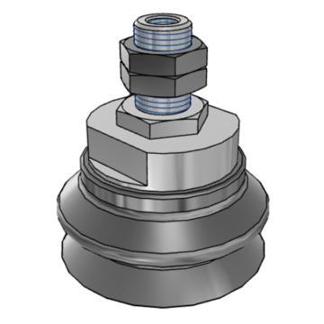 SMC 真空吸盤,ZPT63HBN-A16