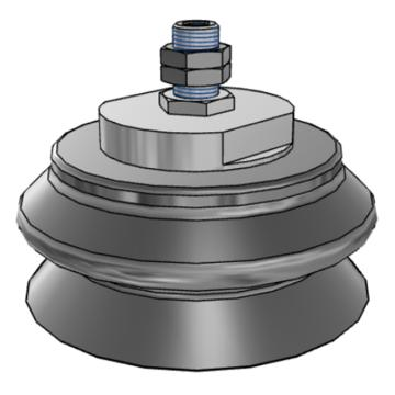 SMC 真空吸盘,ZPT125HBN-A16