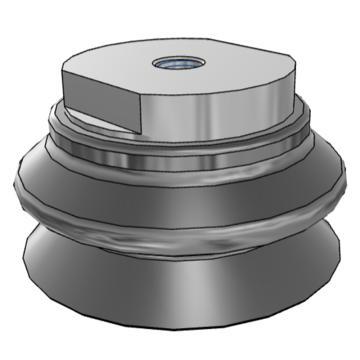 SMC 真空吸盤,ZPT100HBN-B16