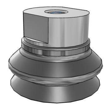 SMC 真空吸盤,ZPT40HBN-B10