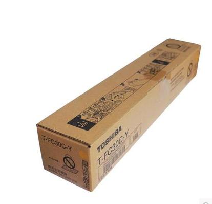 东芝墨粉PS-ZTFC30CY(高容黄色),适用机型e2051c/2551c/2050c/2550c