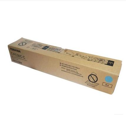 东芝墨粉PS-ZTFC30CC(高容青色),适用机型e2051c/2551c/2050c/2550c 单位:个