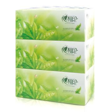 心相印茶语系列2层  200抽*3盒 单位:组