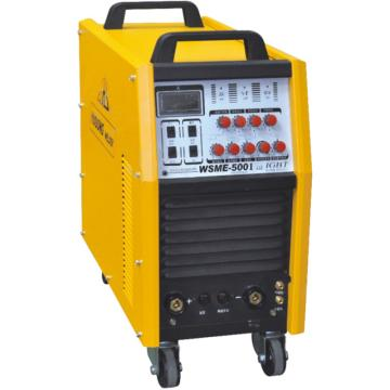 沪工IGBT逆变式交流方波、直流脉冲氩弧焊机,WSME-500I,交直流两用,氩弧焊/手工焊两用